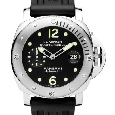 Panerai 沛纳海 LUMINOR SUBMERSIBLE AUTOMATIC ACCIAIO PAM00024 Pam024